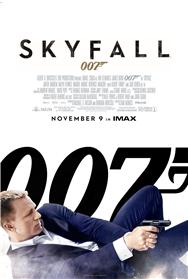James Bond Skyfall movie poster
