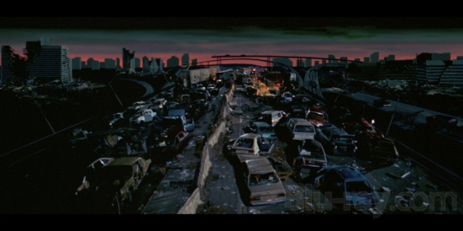 """The ruins of Los Angeles in """"Escape From L.A."""""""