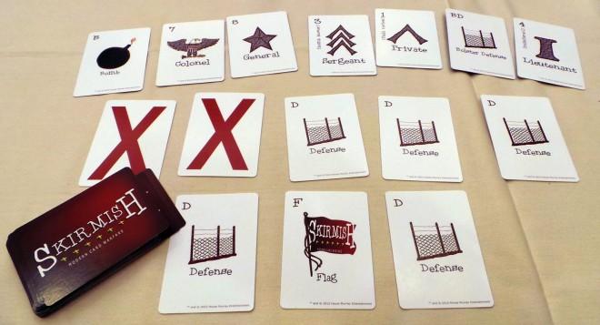 Skirmish cards