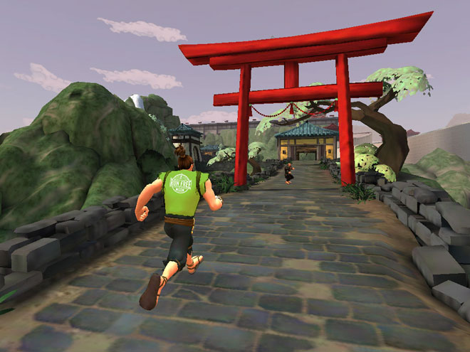 Karateka Run Free Race
