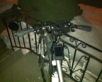 Using the bike mount