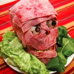 meat head, meat skull, carnivore party,