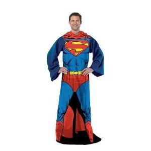 snuggie, blanket, slanket, comic book, hero, Clark Kent