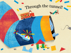 A Present for Milo: Through the tunnel.