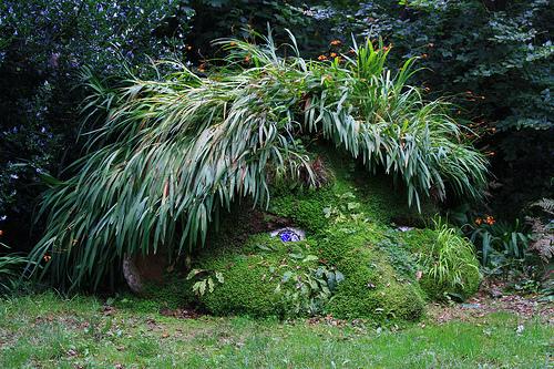 Lost Gardens of Heligan, sculpture, travel
