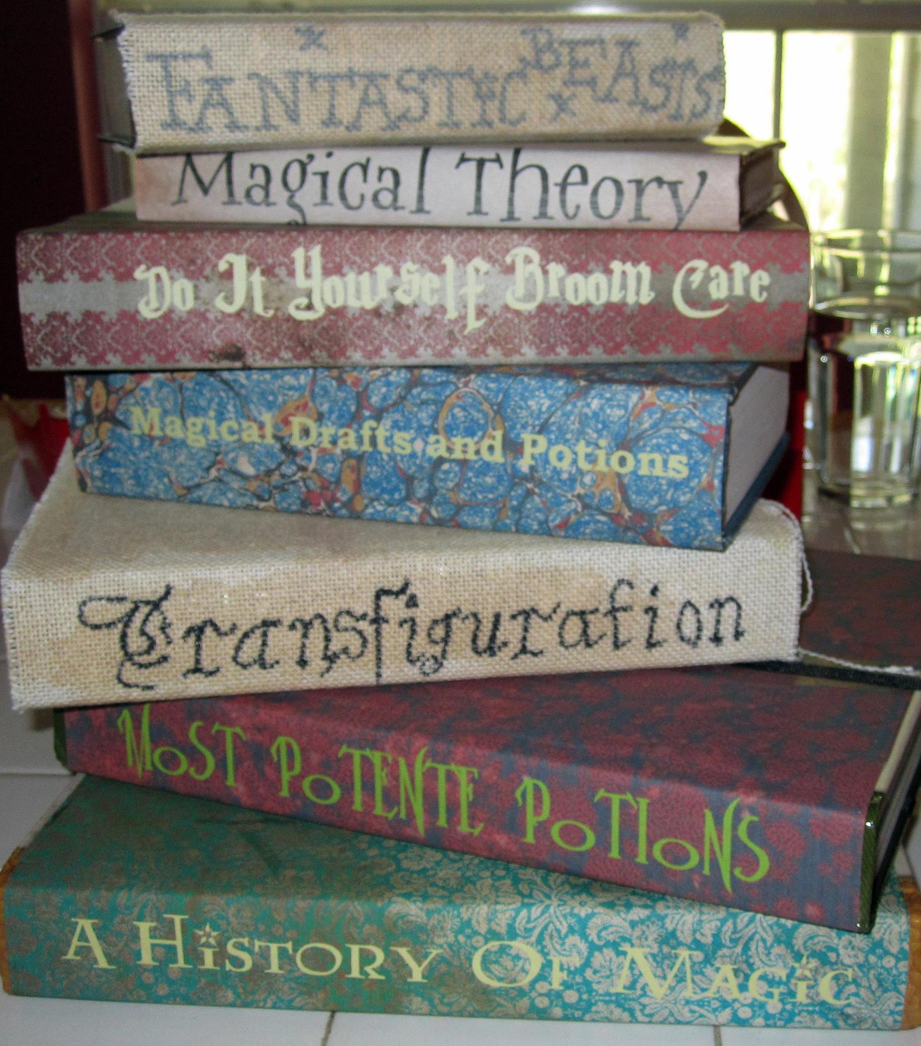 Diy Harry Potter Textbooks