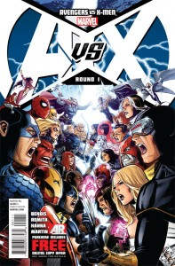 Avengers vs. X-Men #1 Cover Image courtesy of Marvel