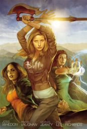 Buffy the Vampire Slayer Season 8 Volume 1 Copyright Dark Horse Comics