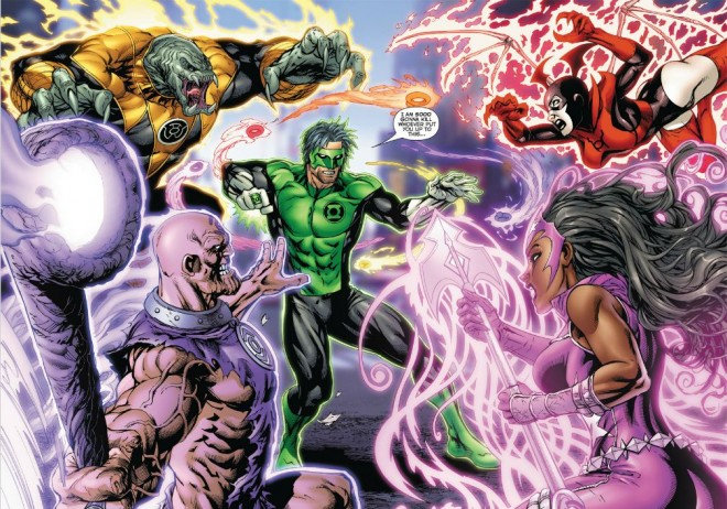 Green Lantern New Guardians Image Copyright DC Comics