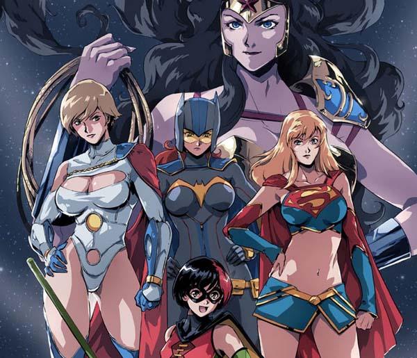 Ame Comi Girls / Image: Copyright DC Comics