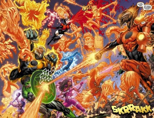 Green Lantern: New Guardians / Image: Copyright DC Comics