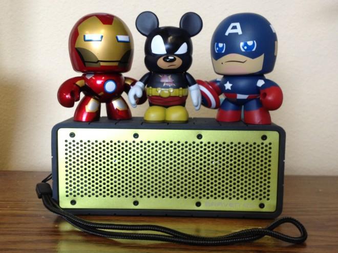 Avengers Assemble! This is one mean speaker.  Image: Dakster Sullivan