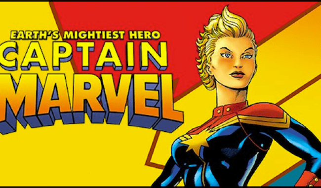 Captain Marvel / Image: Marvel Comics