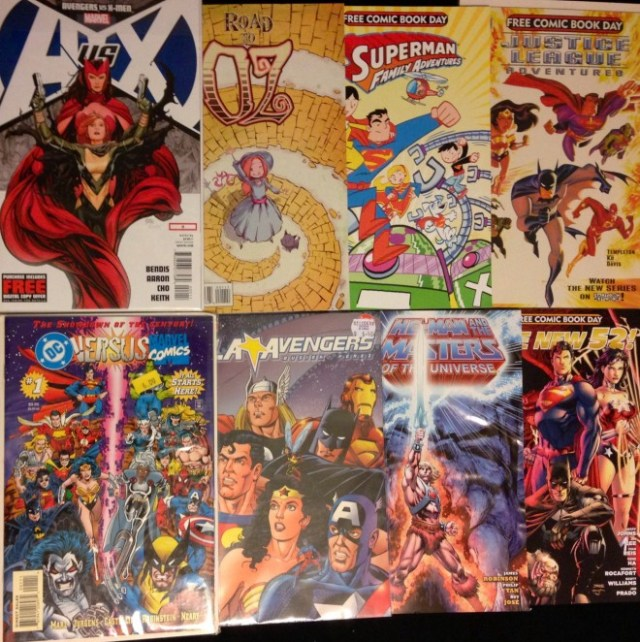 A very small sampling of my comic book collection  Image: Dakster Sullivan