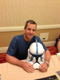 Dirk Benedict and my bucket  Image: Dakster Sullivan