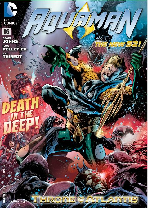 Aquaman #16  Cover Art by Ivan Barrows