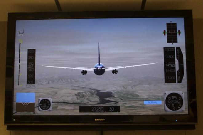 Sim flight 787 flutter test