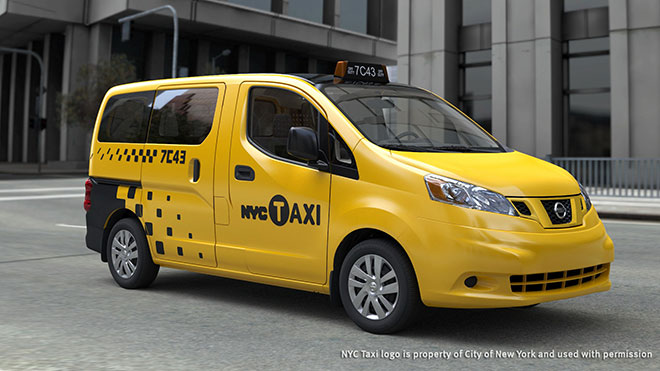 Nissan's New York Taxi