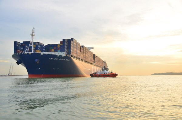 This Is the World's Largest Container Ship, But Not for ...