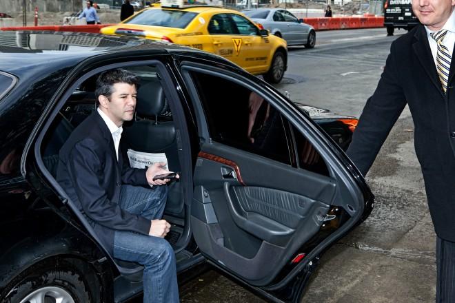 Uber CEO Travis Kalanick. Photo: Jon Snyder/WIRED