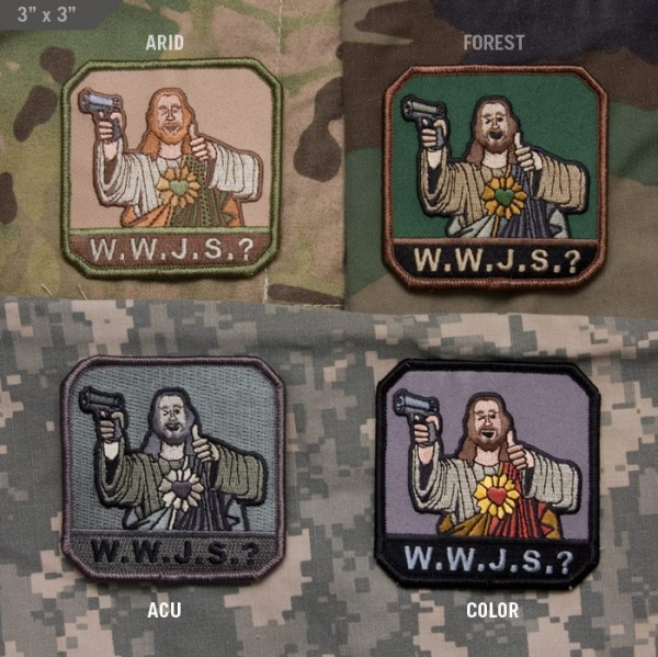 Jesus Military Patches