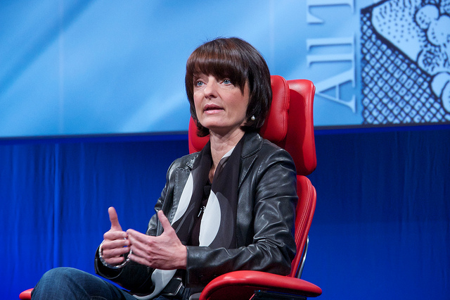 Darpa Director Regina Dugan at the 'All Things D' conference. Photo: Nosillacast/Flickr