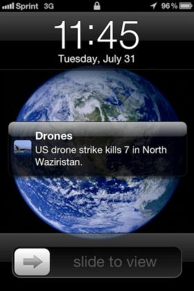 Apple Rejects App That Tracks U.S. Drone Strikes
