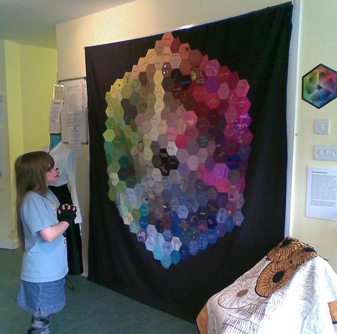 pantone quilt