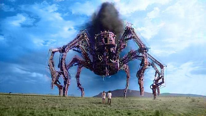 Wild Wild West Jon Peters giant mechanical spider