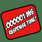 .000001 ms response time!