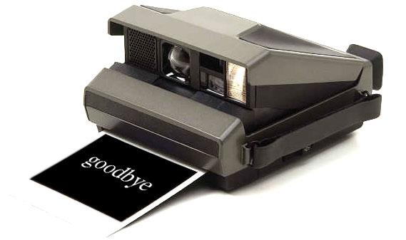 Adeus, Polaroid