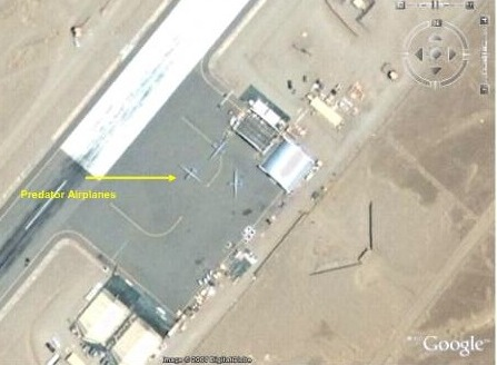 Photo Courtesy : Wired- US Drones Parked inside Paksitans territory