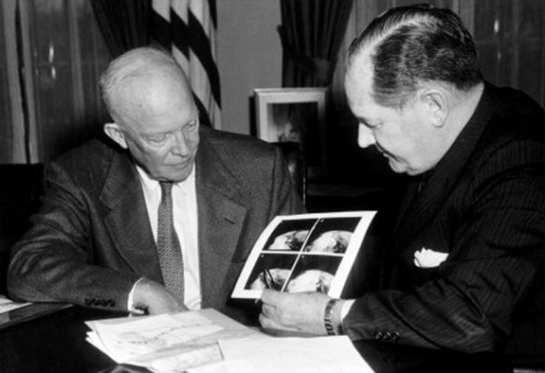 July 29 1958 Ike Inks Space Law NASA Born in Wake of