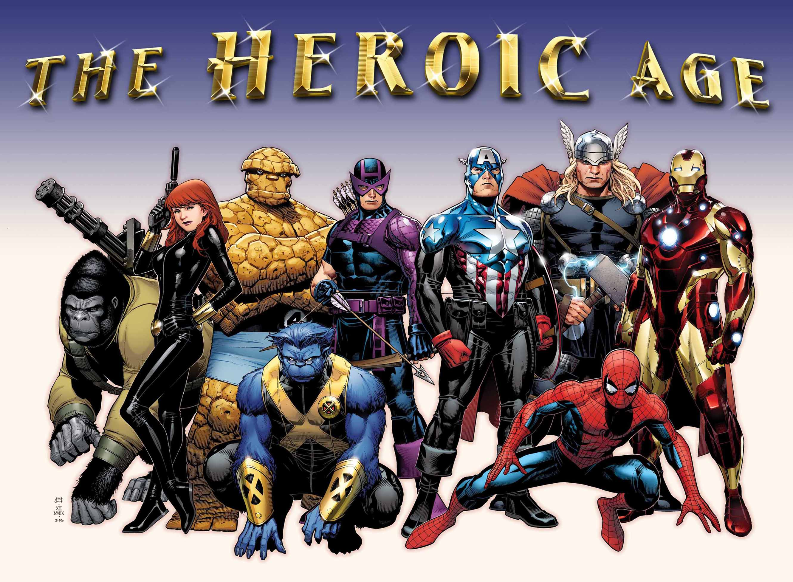 The new Avengers lineup?  And yes, Bucky is STILL Captain America.