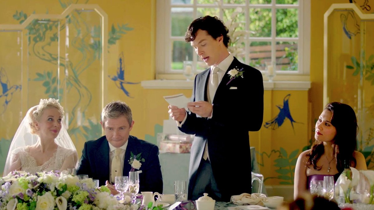 The Shout-Outs and Easter Eggs You Missed in Sherlock: 'The Sign of Three'  | WIRED
