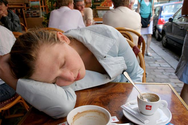 Sip or nap?