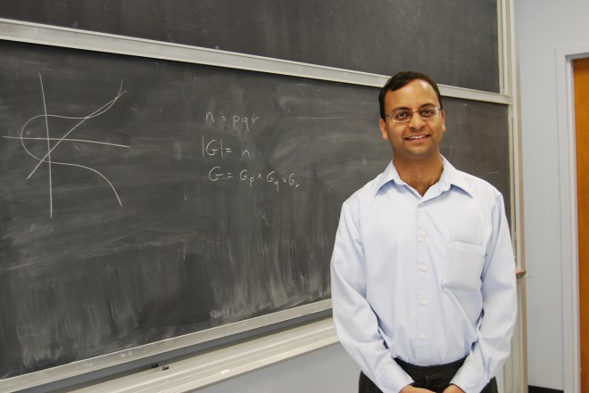 """Amit Sahai, a computer science professor at the University of California, Los Angeles, and his collaborators have developed an """"indistinguishability"""" obfuscator that many see as a watershed moment for cryptography. Courtesy of Amit Sahai"""