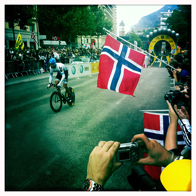 Thor Hushovd at the 2011 Tour de France