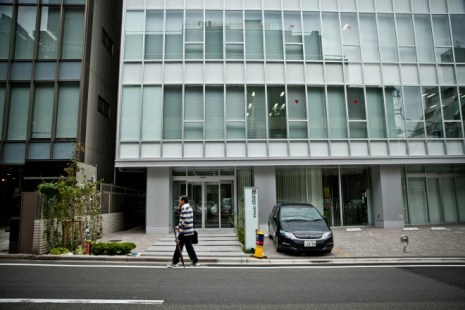 The Mt. Gox offices in Tokyo. The site of the proposed Bitcoin Cafe would be in the far right space in the photo above. Photo: Ariel Zambelich/WIRED