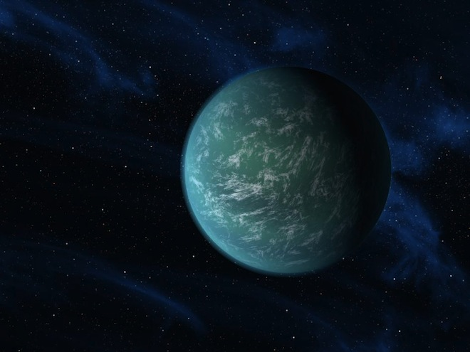 A Possibly Habitable, Earth-Like Planet