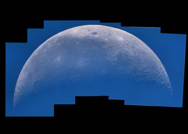 Daytime Lunar Mosaic