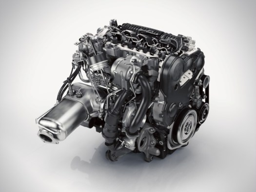 The XC90 comes with the Drive-E, the first of a new generation of Volvo engines.