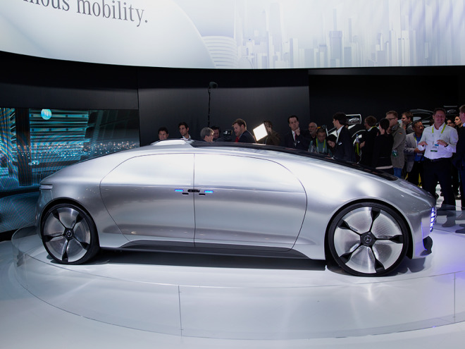 Mercedes' Bonkers Self-Driving Concept Is Roaming San Francisco