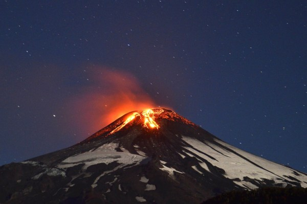 Chilean Volcano Spews a Spectacular Lava Fountain   WIRED