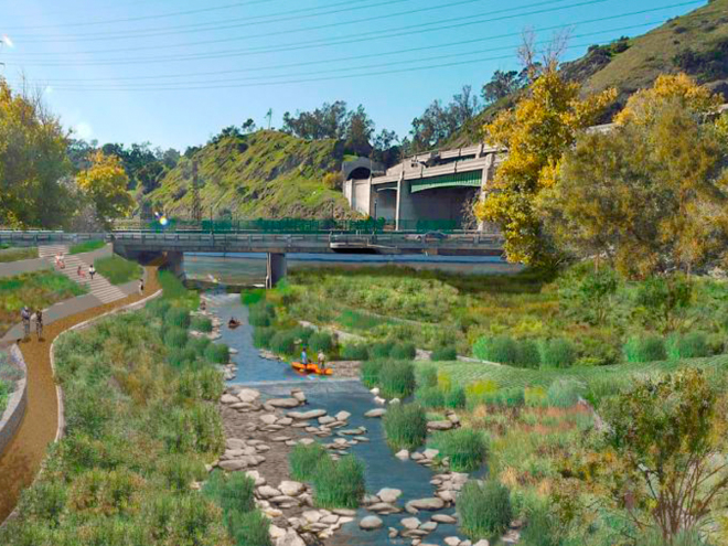 The Plan to Bring Nature Back to the Los Angeles River