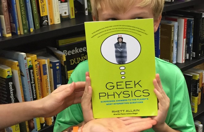 Geek Physics on Science Friday