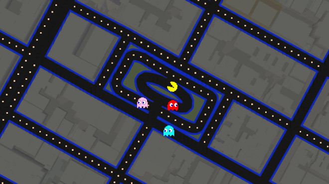 Top 15 Google Maps Pac-Man Spots