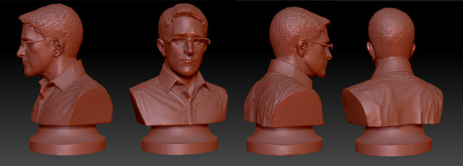 Now You Can 3-D Print Your Own Copy of NYC's Illegal Snowden Bust