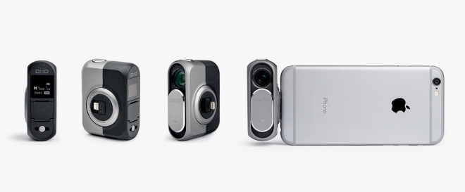 Tiny Camera Turns Your iPhone Into a Lens-Style Shooter
