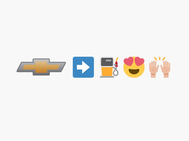 We Try to Decipher Chevy's Bewildering Emoji Press Release